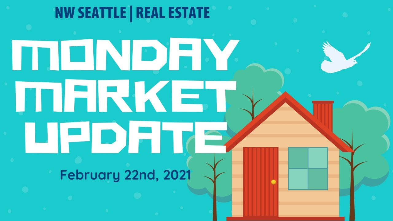 Monday NW Seattle Real Estate Market Update | February 22nd, 2021
