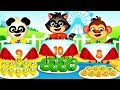 PLAY WITH FRUIT SHOP For Baby Learn Numbers -  Fun Educational Children Games