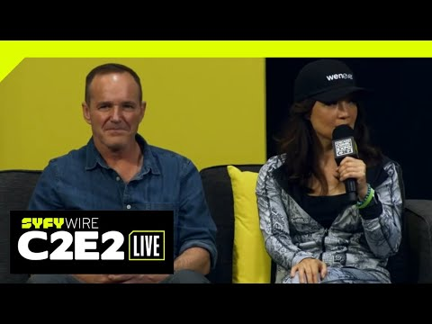 WATCH C2E2: Clark Gregg and Ming-Na Wen tease Agents of S.H.I.E.L.D. Season 6