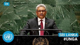 🇱🇰 Sri Lanka - President Addresses United Nations General Debate, 76th Session (English)