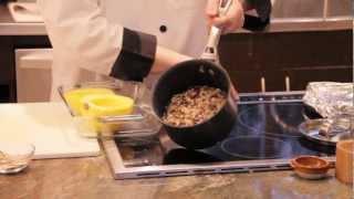 Acorn Squash With Wild Rice Pilaf --- Green Door Gourmet