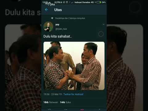 Persahabatan Jokowi Dan Prabowo Bagai Kepompong