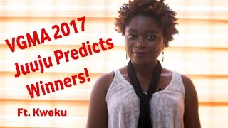 Vodafone Ghana Music Awards 2017 | Juuju Predicts Winners!