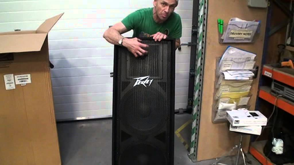 Peavey PV215 Passive PA Speaker From Get in the Mix featuring DJ Tutor
