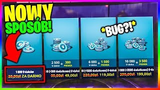 WIE ZU GET V-DOLCE CHEAPER VON 50% IN FORTNITE! * BUG! * NEUE WAY TO V-BUCKS ALMOST FREE?!