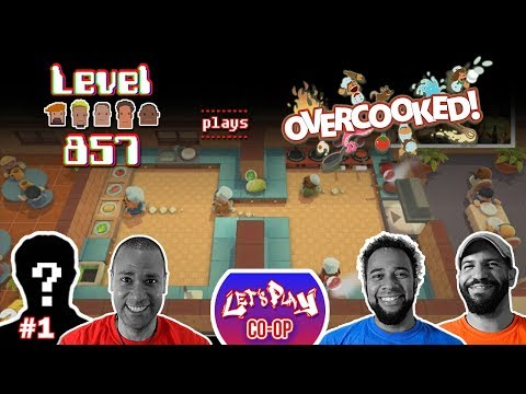 Let's Play Co-op: Overcooked! Special Edition | 4-Player | Nintendo Switch | Walkthrough #1