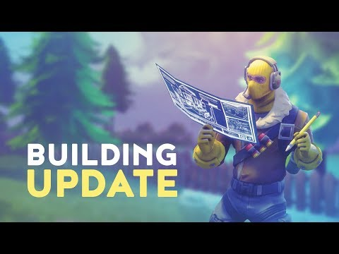 BUILDING UPDATE & NEW WEAPON ANNOUNCED! (Fortnite Battle Royale)