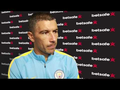 Aleksandar Kolarov interview - Manchester City v West Ham