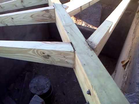Limatesas de techo a 4 agua en uspallata mendoza youtube - Como hacer un tejado de madera ...