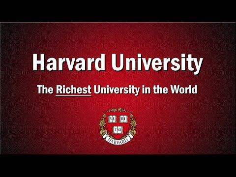 The Richest University in the World