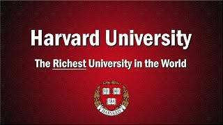 Harvard - The Richest University in the World thumbnail