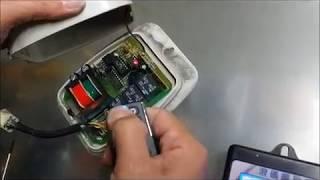 一正JP 88RX遙控主機,新增遙控器設定方法,子機無法空中學習時,打開主機外殼,按學習鍵,如無學習鍵時請用短路