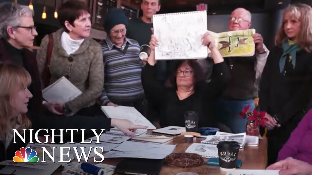 this-organization-is-turning-drawing-into-a-social-pastime-nbc-nightly-news