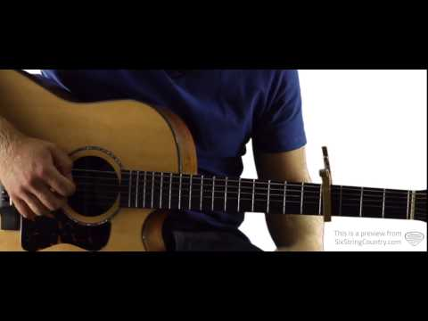 Kick the Dust Up - Luke Bryan - Guitar Lesson and Tutorial