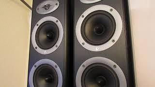 Celestion Speakers F30 Floor Standing Speakers 120 Watts 3 Way Bass Reflex