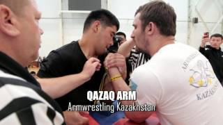 Чемпионат Казахстана абсолютная категория финал левая рука