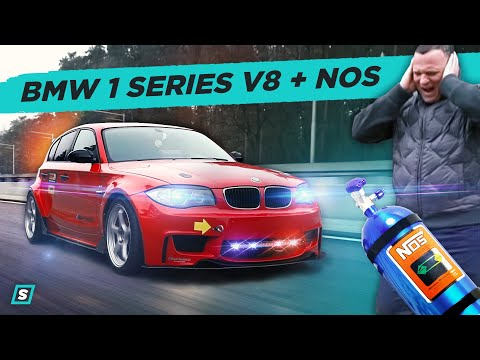BMW 1 Series V8 + NOS  // Time Attack