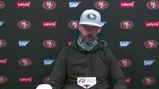 "49ers Coach Kyle Shanahan on the ""dark side"" that players like George Kittle, Deebo Samuel channel"