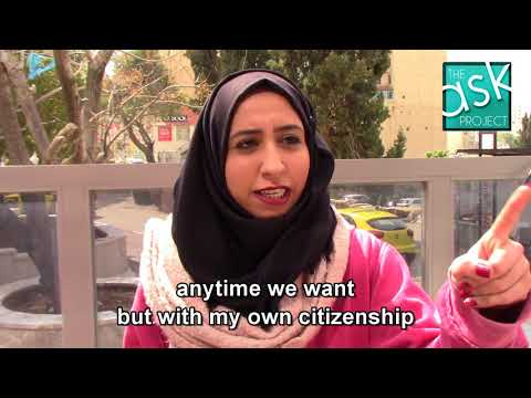 Palestinians: Would you take Israeli citizenship to solve the conflict?