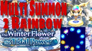 Multi Summon Hunting HAWK di Banner The Winter Flower and The Tidal Power