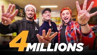 4 MILLIONS D'ABONNÉS feat. GAD ELMALEH (Mario carte bleue + Concours d'anecdotes)