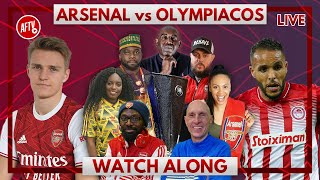 Arsenal vs Olympiacos | Watch Along Live