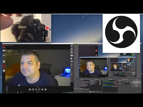 How To Use Your DSLR As A Webcam In OBS Software Mac/Windows For FREE