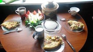Наш скромный завтрак