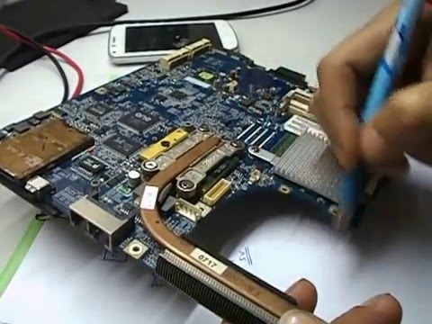 Chip Level Laptop Repair Training  @IECT. Laptop Fan Circuit (Hindi)