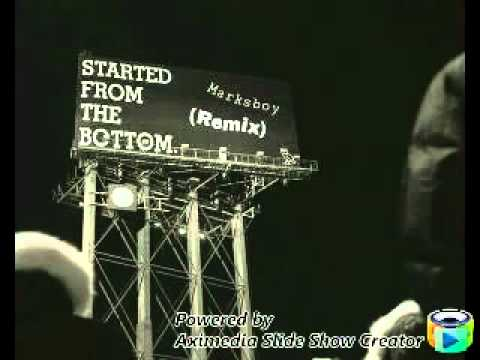 Drake Ft. Anthony Marks  Started From The Bottom