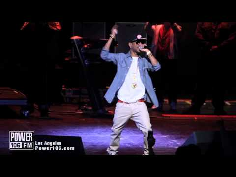 Wiz Khalifa & Big Sean Perform Gang Bang at Power106 Cali Christmas 2011