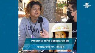 Sofía Juárez fue vista por última vez caminando hacia su casa la noche del 4 de febrero de 2003 en Washington, EU. Sin embargo, usuarios de redes están seguros de que la niña desaparecida ha resurgido en un video filmado en Culiacán