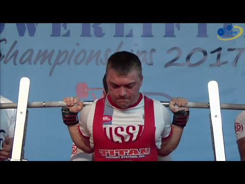 Open Men, 59 to 66 kg - European Equipped Powerlifting Championships 2017