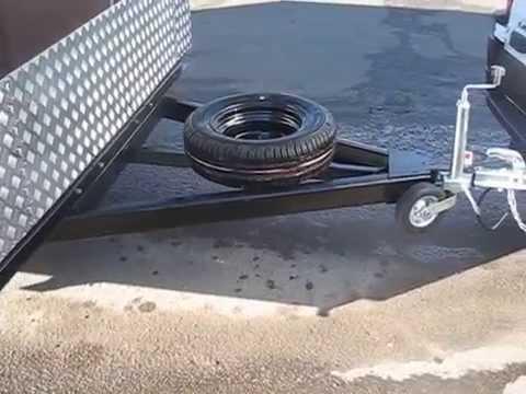 Прицеп-фургон для перевозки лодок, байдарок и каноэ. МОЗПТ.
