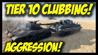 ► World of Tanks: Tier 10 Clubbing... Aggression! - M48 Patton and E-50M Gameplay