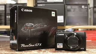 Unboxing e overview della nuova Canon Powershot G7X