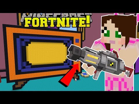 Minecraft: TOY STORY BASEMENT!! - FORTNITE BATTLE ROYALE - Modded Mini-Game