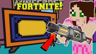 Minecraft: TOY STORY BASEMENT!! - FORTNITE BATTLE ROYALE - Modded Mini-Game