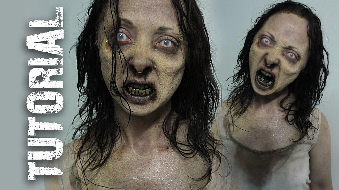 walking dead zombie makeup tutorial hd youtube