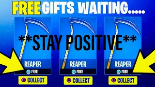 REAPER PICKAXE IS BACK (SCYTHE PICKAXE IN FORTNITE) SCYTHE GIVEAWAY *ENDED*