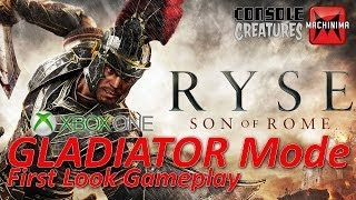 """XBOX One"" ""Ryse: Son of Rome"" Gladiator Mode Gameplay"