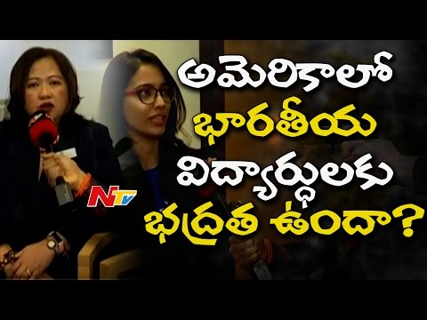Is USA safe for Indian Students? || NTV Exclusive with Rivier University Officers | Trump Acts