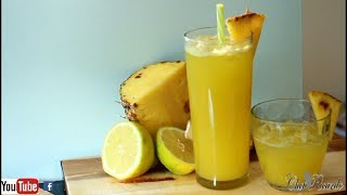 Fresh Pineapple Juice | Recipes By Chef Ricardo