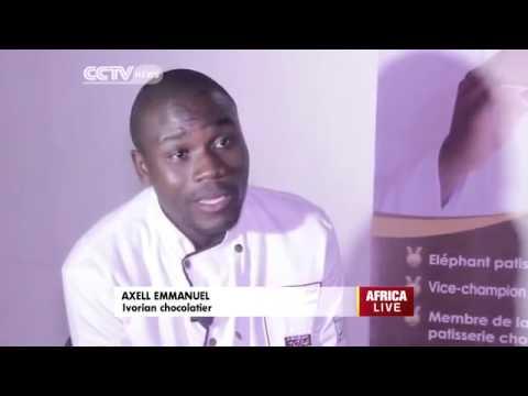 Axel-Emmanuel entrepreneur ivoirien dans le domaine du Chocolat.