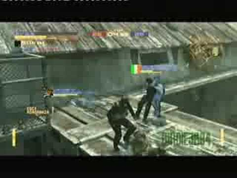 MGO - CQC Only Battle