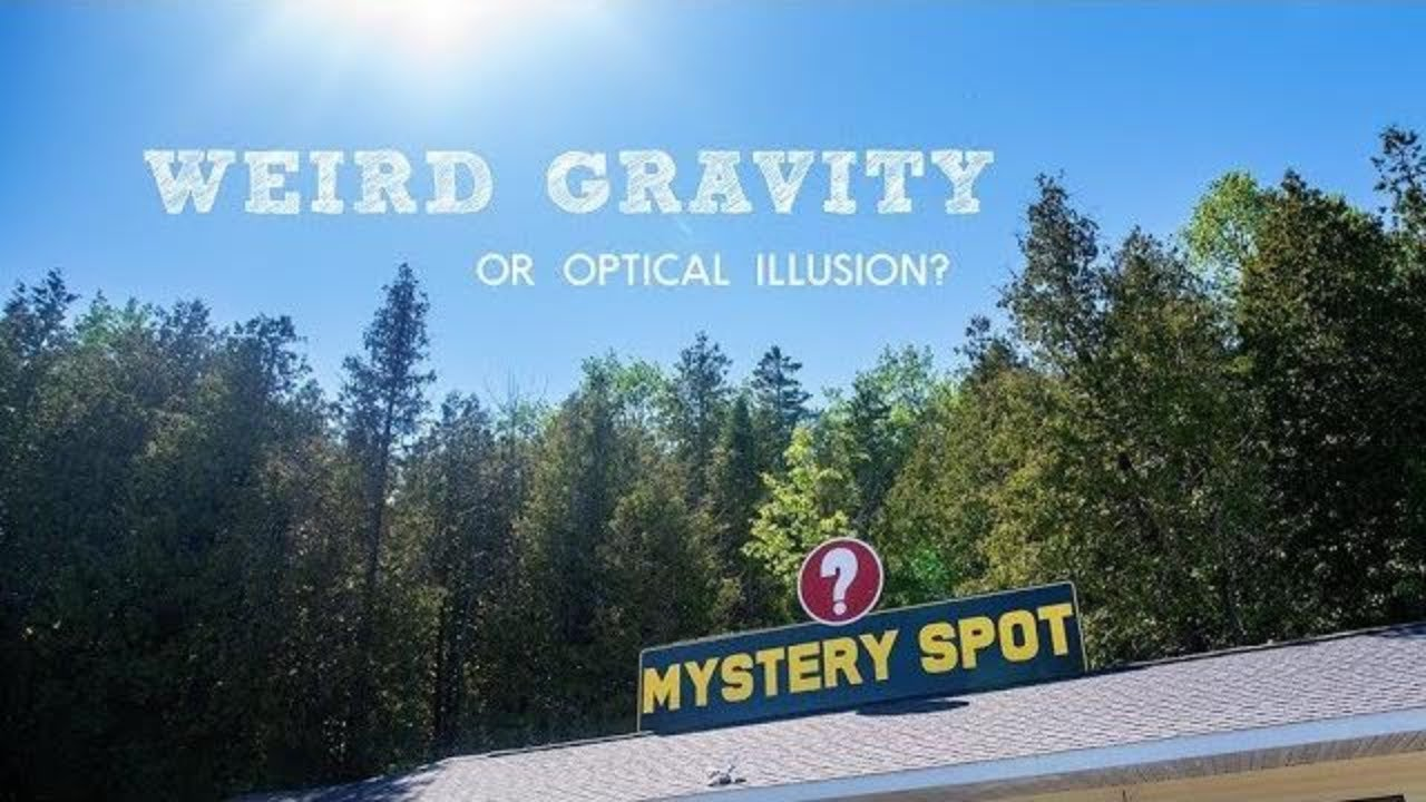 The Mystery Spot in St. Ignace, Michigan | Full time RV Family