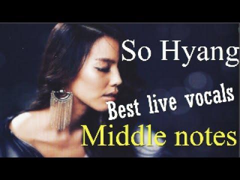 소향 So Hyang - Best  Vocals Part 2 Middle Notes
