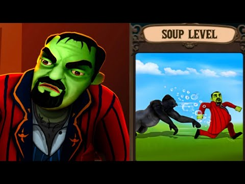 Scary Stranger 3D RELOAD -Soup Level - New Update 5.3 - Gameplay [Android - ios]
