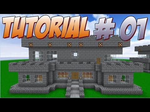 Como Construir Um FORTE #01 - Minecraft Tutorial