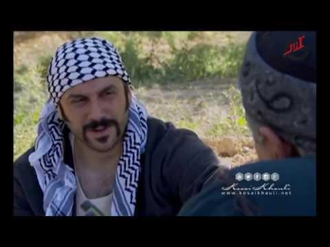 قصى خولى  عبود الشامى يحكى للمختار قصته  مسلسل رجال العز  Kosai Khauli